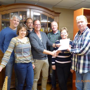 Historische Vereniging vestigt zich in Dorpshuis Peize